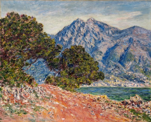 Claude Monet Paintings Cap Martin jpg