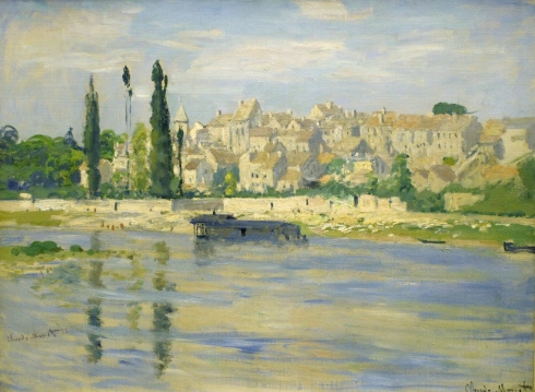 Claude Monet Paintings Carrieres Saint Denis jpg