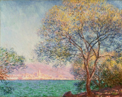 Claude Monet Paintings Antibes in the Morning jpg