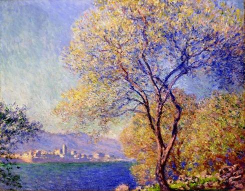 Claude Monet Paintings Antibes Seen from the Salis Gardens jpg