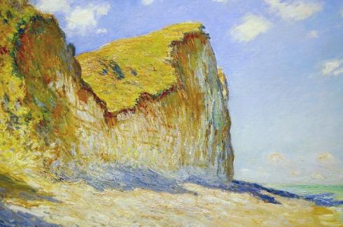 Claude Monet Paintings Cliffs near Pourville jpg