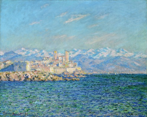 Claude Monet Paintings Antibes Afternoon Effect jpg