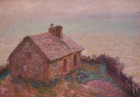 Claude Monet Paintings Customs House at Varengaville jpg