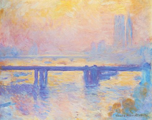 Claude Monet Paintings Charing Cross Bridge jpg