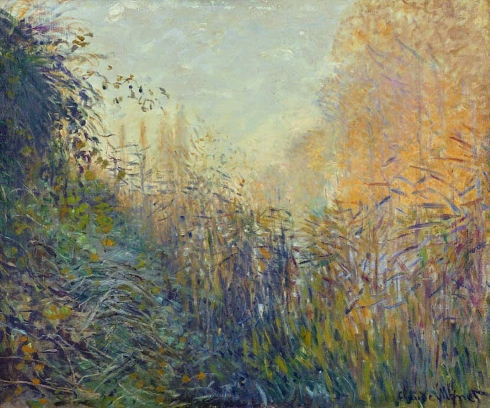 Claude Monet Paintings Etude de joncs a Argenteuil jpg