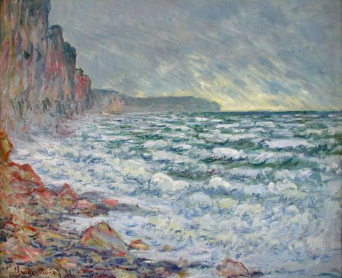 Claude Monet Paintings Fecamp by the Sea jpg