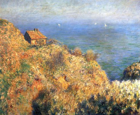 Claude Monet Paintings Fisherman s House at Varengeville jpg