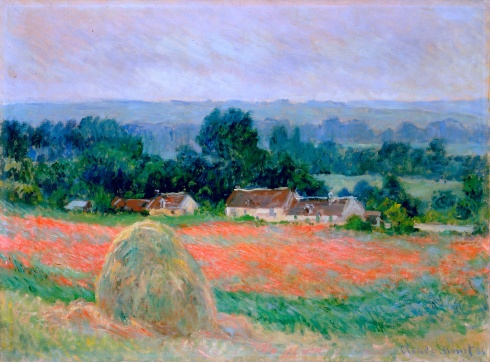 Claude Monet Paintings Haystack at Giverny jpg