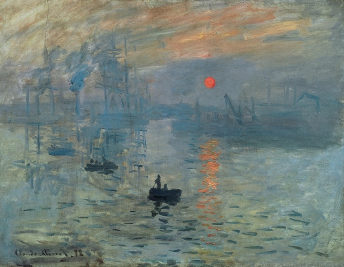 Claude Monet Paintings Impression Sunrise jpg