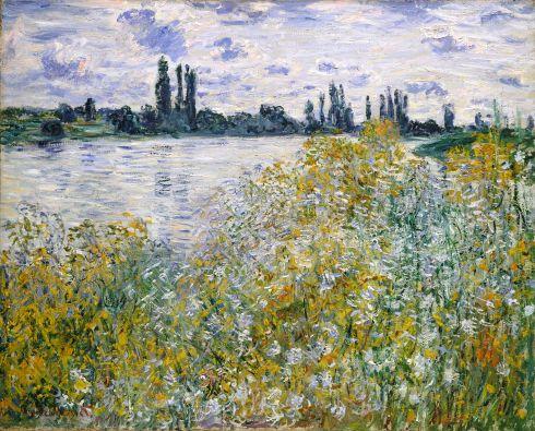 Claude Monet Paintings Isle of Flowers on Siene near Vetheuil jpg