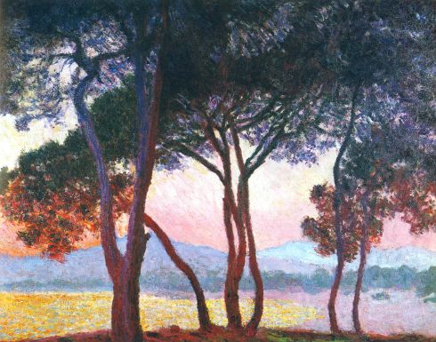 Claude Monet Paintings Juan les Pins jpg