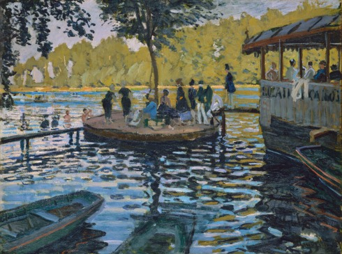 Claude Monet Paintings La Grenouillere jpg