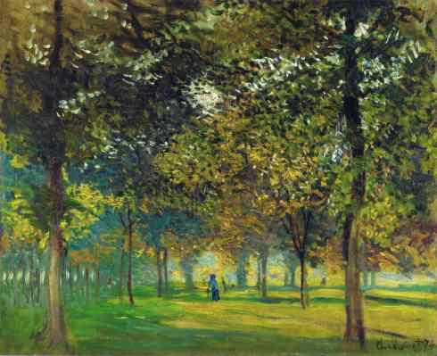 Claude Monet Paintings L Allee du Champ de Foire a Argenteuil jpg