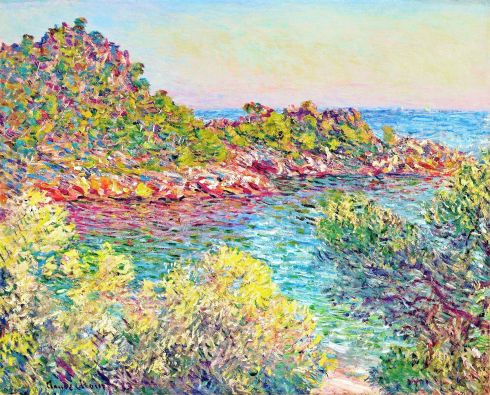Claude Monet Paintings Landscape near Montecarlo jpg