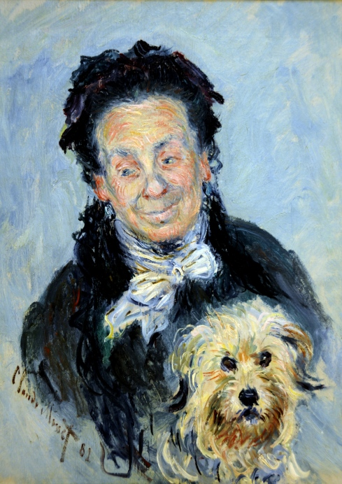 Claude Monet Paintings Le Mere Paul Eugenie Graff Madame Paul Graff jpg
