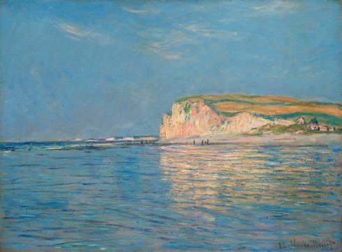 Claude Monet Paintings Low Tide at Pourville jpg