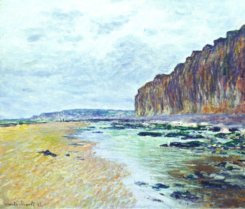 Claude Monet Paintings Low Tide at Varengeville jpg