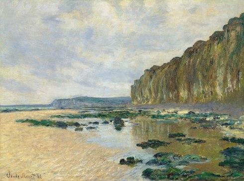 Claude Monet Paintings Low Tide at Varengeville jpg