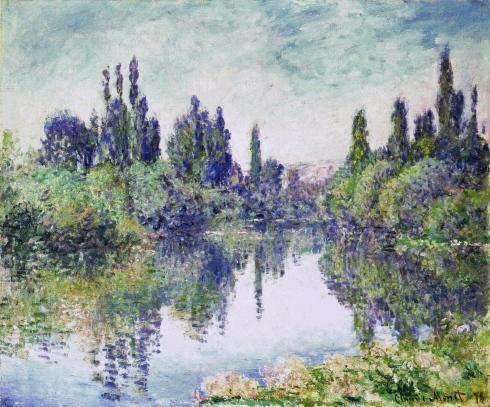 Claude Monet Paintings Morning on the Seine near Vetheuil jpg