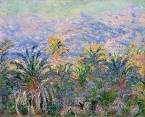 Claude Monet Paintings Palm Trees at Bordighera jpg