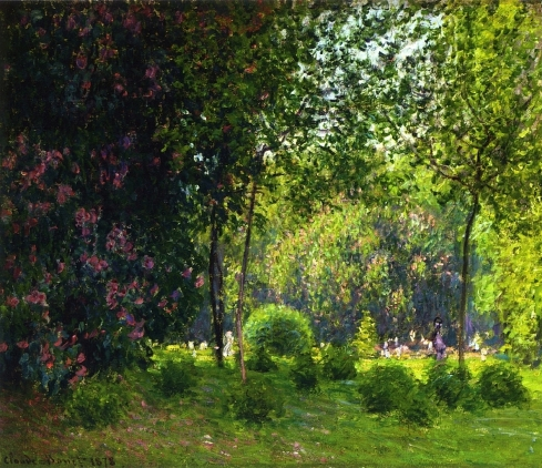 Claude Monet Paintings Parc Monceau jpg