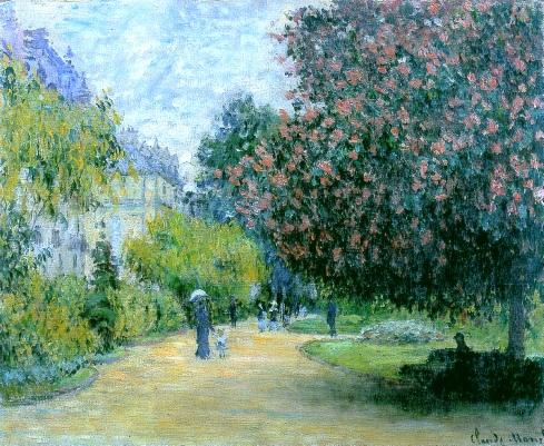 Claude Monet Paintings Parc Monceau jpg