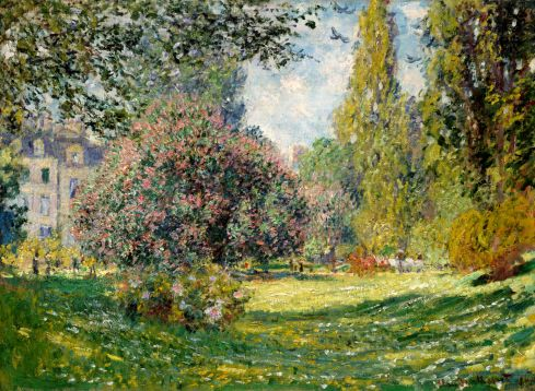 Claude Monet Paintings Parc Monceau Paris jpg