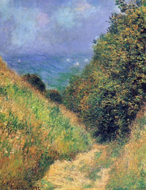 Claude Monet Paintings Path at Pourville jpg