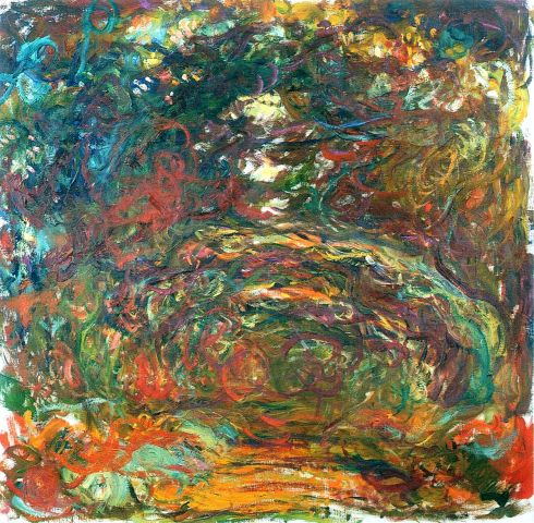 Claude Monet Paintings Path under the Rose Arches Giverny jpg