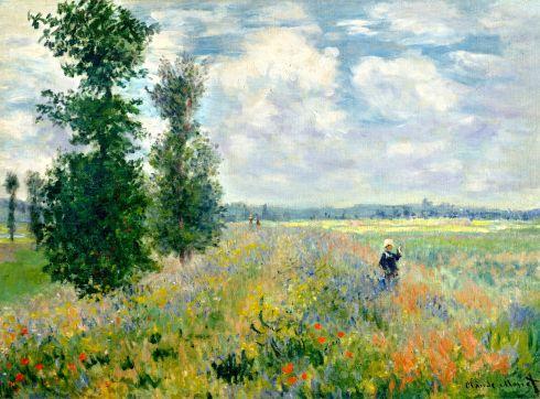 Claude Monet Paintings Poppy Field Argenteuil jpg