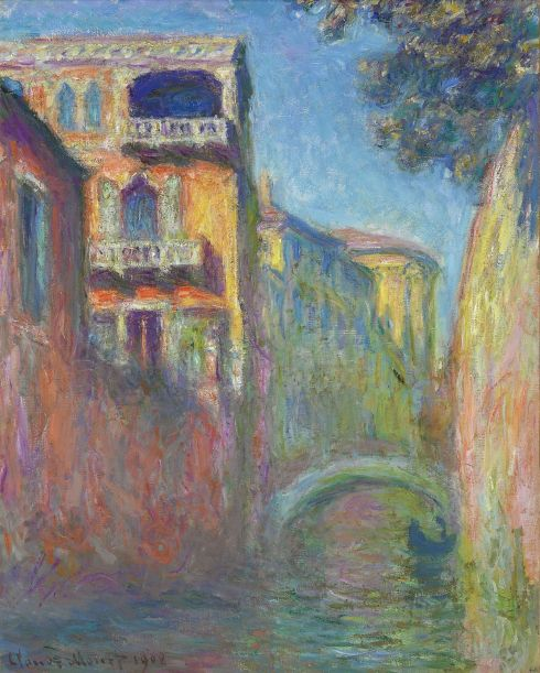 Claude Monet Paintings Rio della Salute jpg