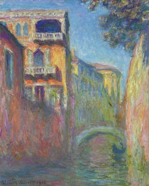 Claude Monet Paintings Rio della Salute jpg