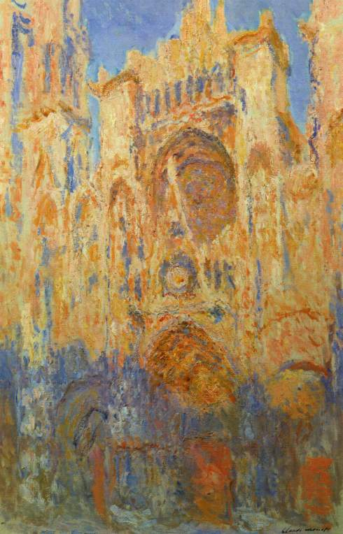Claude Monet Paintings Rouen Cathedral jpg
