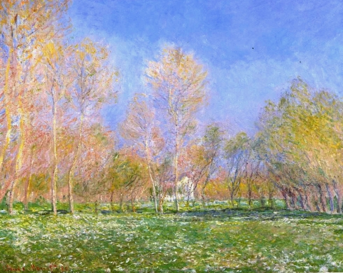 Claude Monet Paintings Springtime in Giverny jpg