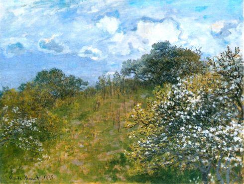 Claude Monet Paintings Springtime jpg