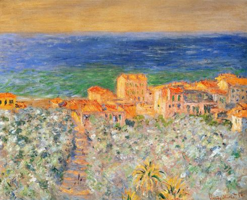 Claude Monet Paintings Burgo Marina at Bordighera jpg